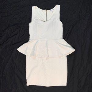 Honey And Rosie Peplum Dress Size Medium